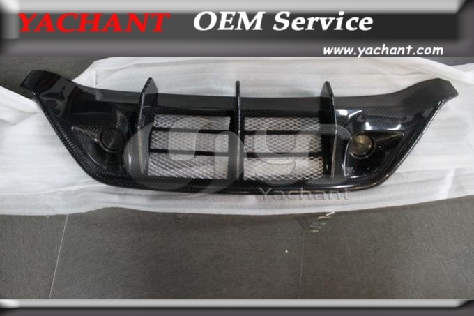 Fibra de carbono WA Style para difusor de parachoques trasero Addon apto para 2008-2010 Nissan R35 GTR