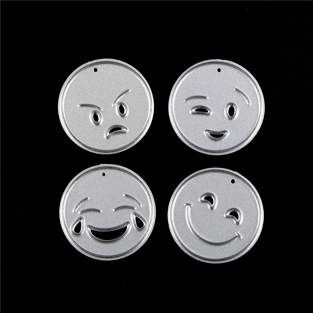 13pcs DIY Metal  Smiling face combination craft paper die cutting dies for Scrapbooking/Valentine's day album