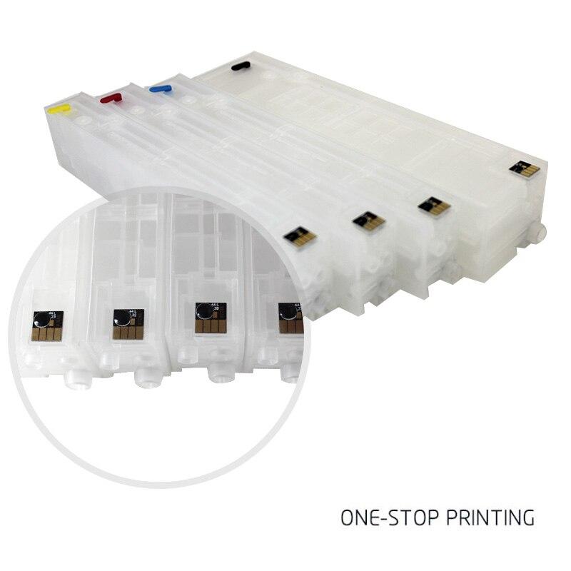Para officejet pro x451dn x451dw x551 x576dw x476dw x476dn cartucho de tinta da impressora compatível 970 971, recarregáveis com chips de arco