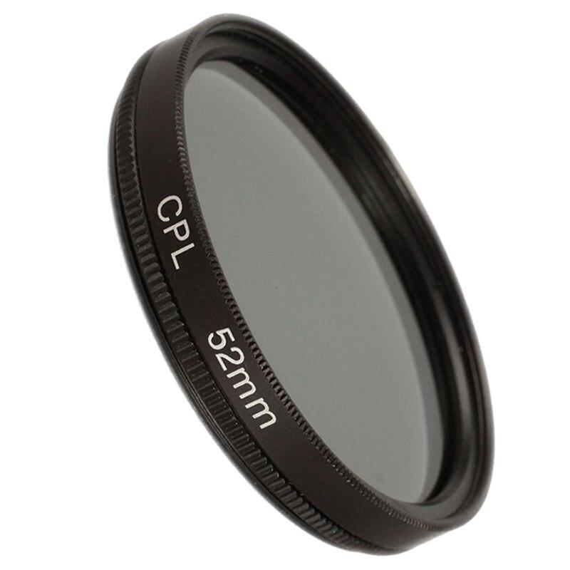 ABHU-52mm filtro CPL polarizado circular para canon 650D 700D nikon D3100 D3200 D3300