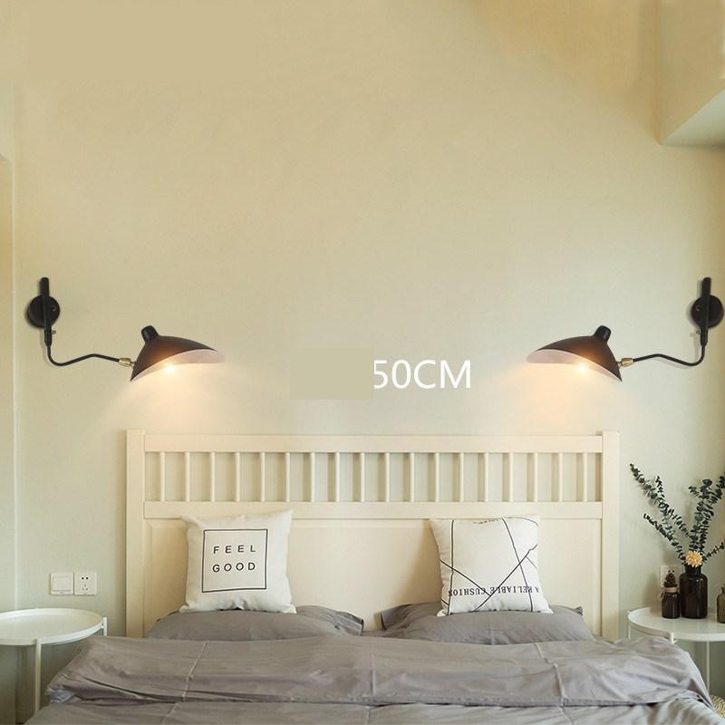 retro designer rotating sconce industrial loft lampadas de parede do vintage luzes
