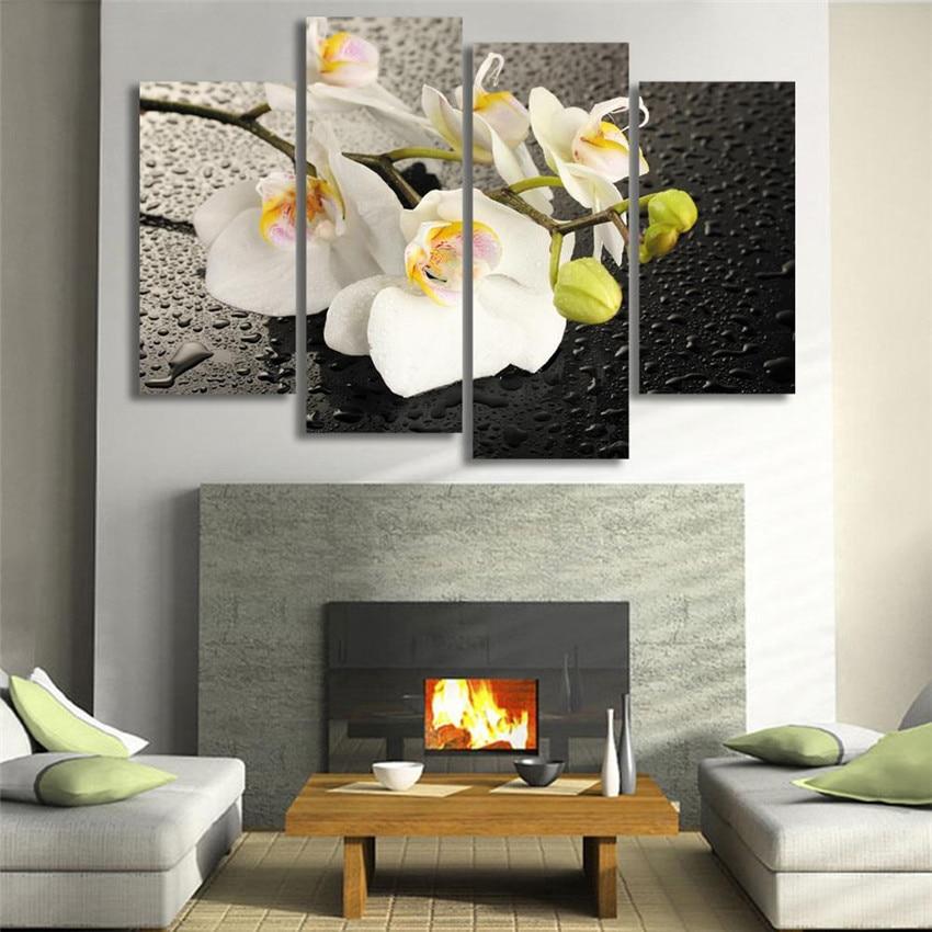 Cuadro de pared para decoración del hogar, lienzo elegante de invierno, pintura...