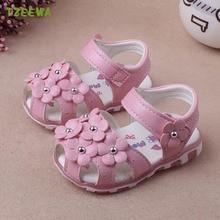 Chaussures pour bébés filles   Chaussures de plage, à fleurs, à la mode, pour bébés filles, chaussures princesse, Ayakkabi
