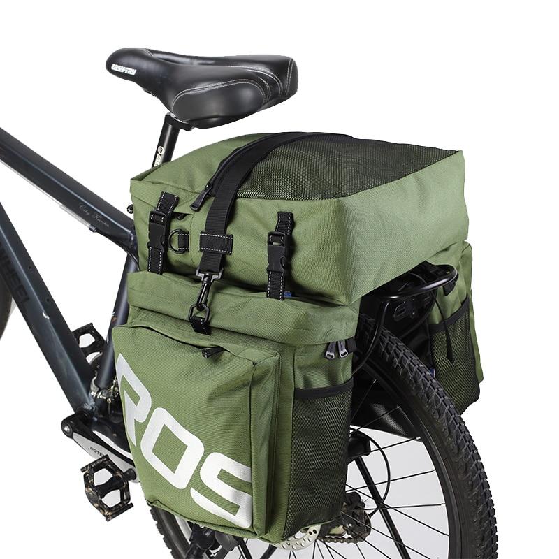 Рюкзак ROSWHEEL 14892 для горного велосипеда, 3 в 1, сумка для багажника, двухсторонняя задняя стойка для велосипеда