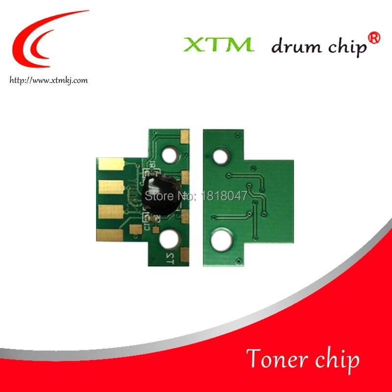 Chip Compatible con para Lexmark C544 546X544X546X548 chips de tóner C544X1KG C544X1CG C544X1MG C544X1YG cuenta medido reinicio