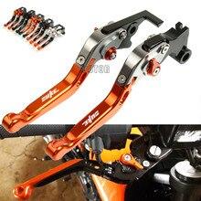 CNC aluminium moto frein dembrayage leviers réglable pliant extensible levier de frein pour KTM 640 LC4 640LC4 2003-2006 2005 2004