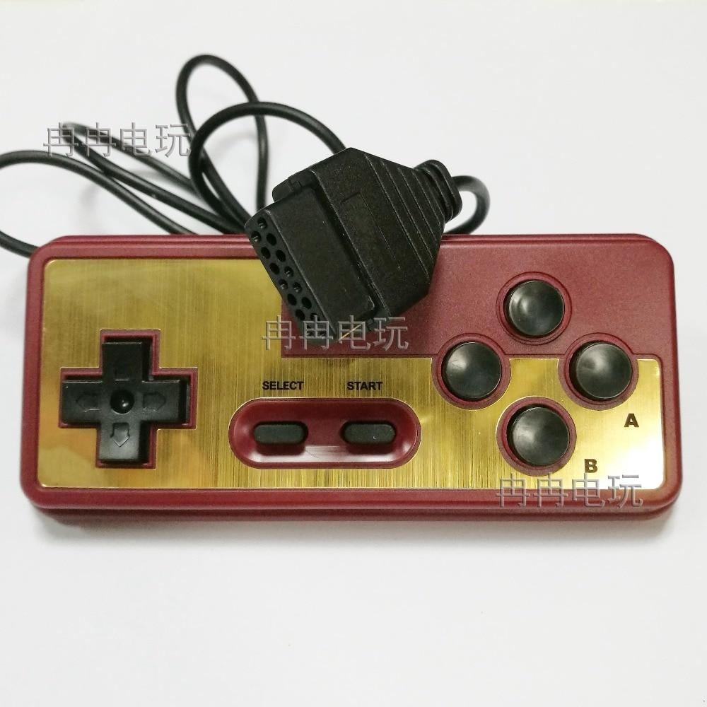 Para la consola japonesa de 8 bits 15Pin Cable controlador de enchufe para el joystick del juego del jugador NES Consola de Videojuegos Tv