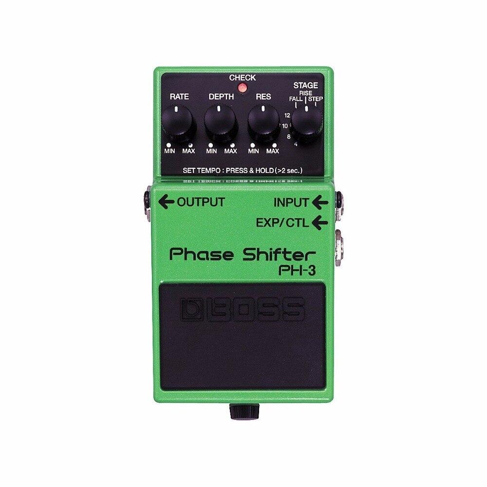 Pedal de cambio de fase Boss Audio PH-3 para guitarra/bajo con caja de Pedal gratis