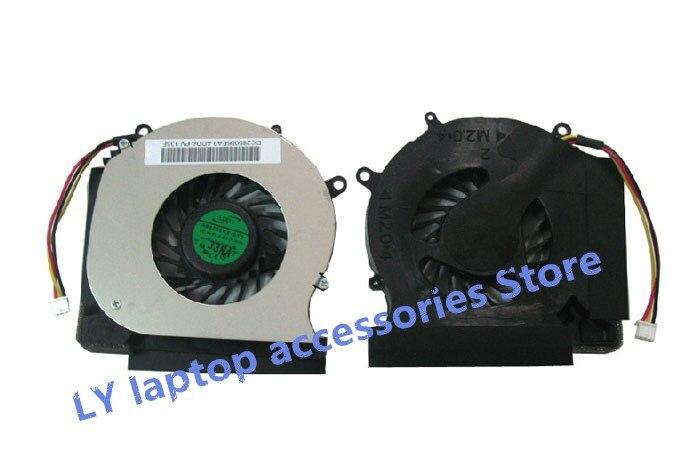 Para HP DV3 DV3-2000 DV3-2126TX DV3-2121TX CQ35 original ordenador portátil ventilador de refrigeración de la CPU 531813-001 531814-001