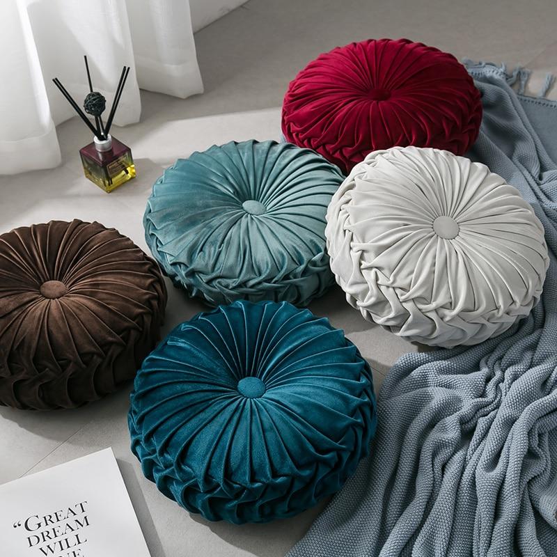 2019 nueva moda de pana gruesa cojín de asiento silla Decoración de casa Patio Coche Oficina ronda