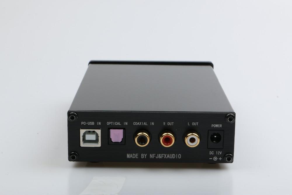 FX-AUDIO DAC-X6 HiFi 2.0 Digital Audio Decoder DAC Input USB/Coaxial/Optical Output RCA/ Amplifier 24Bit/96KHz DC12V enlarge