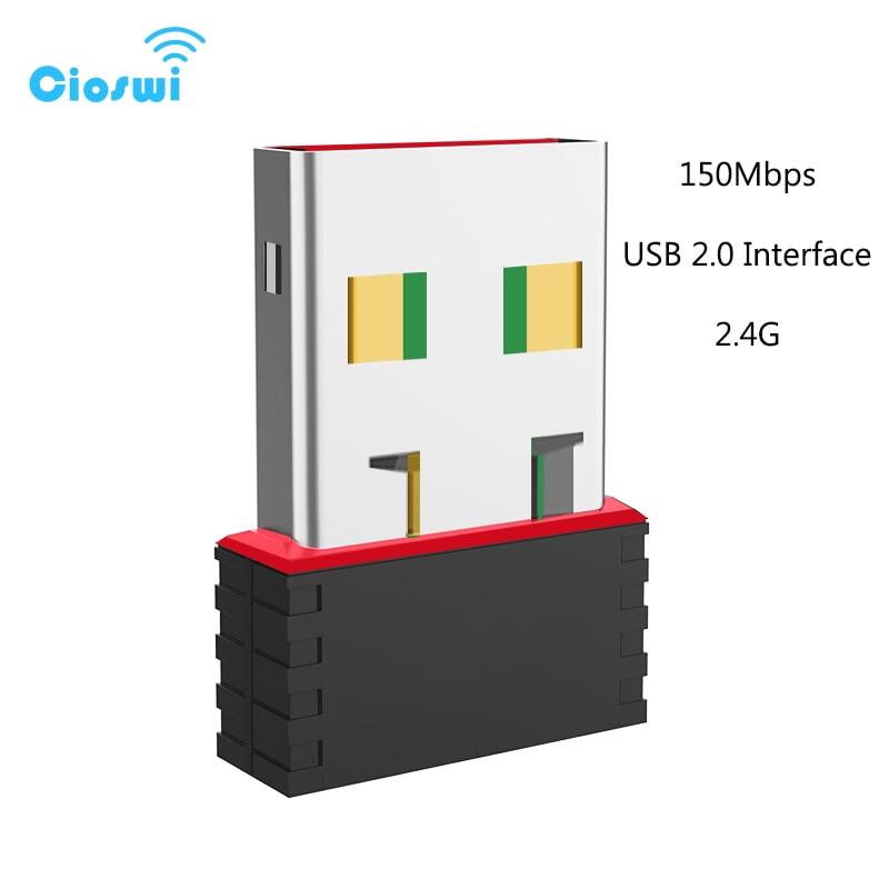 Adaptador wifi mt7601 de largo alcance tarjeta de red usb 802.11n con antenas 2dbi adaptador ethernet usb de 150mbps wifi para ordenador tv