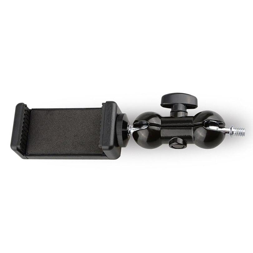 Camvate 360 cabeça de bola giratória 1/4 parafuso montagem para câmera tripé smartphone suporte do telefone celular mini bola cabeça c1453