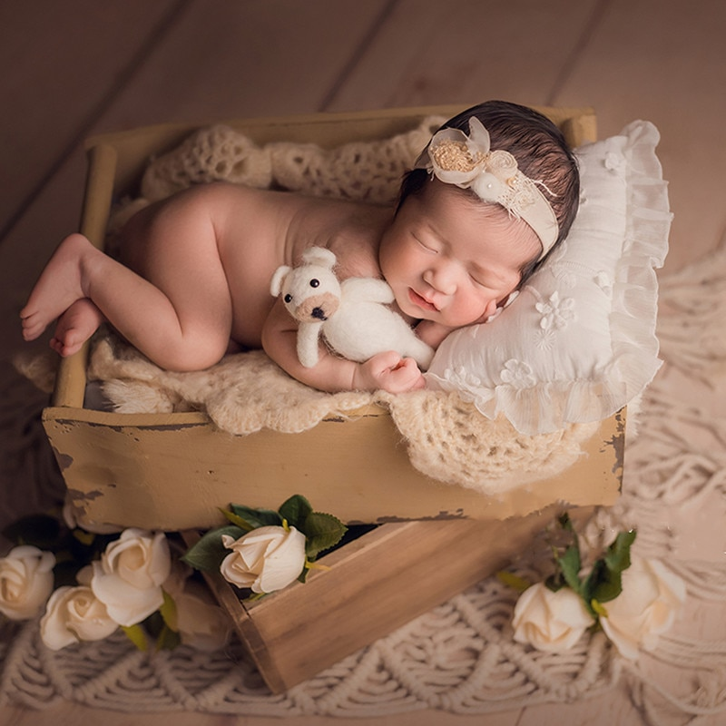 Newborn photography props baby props carpet hand-woven tassel carpet Nordic studio photography