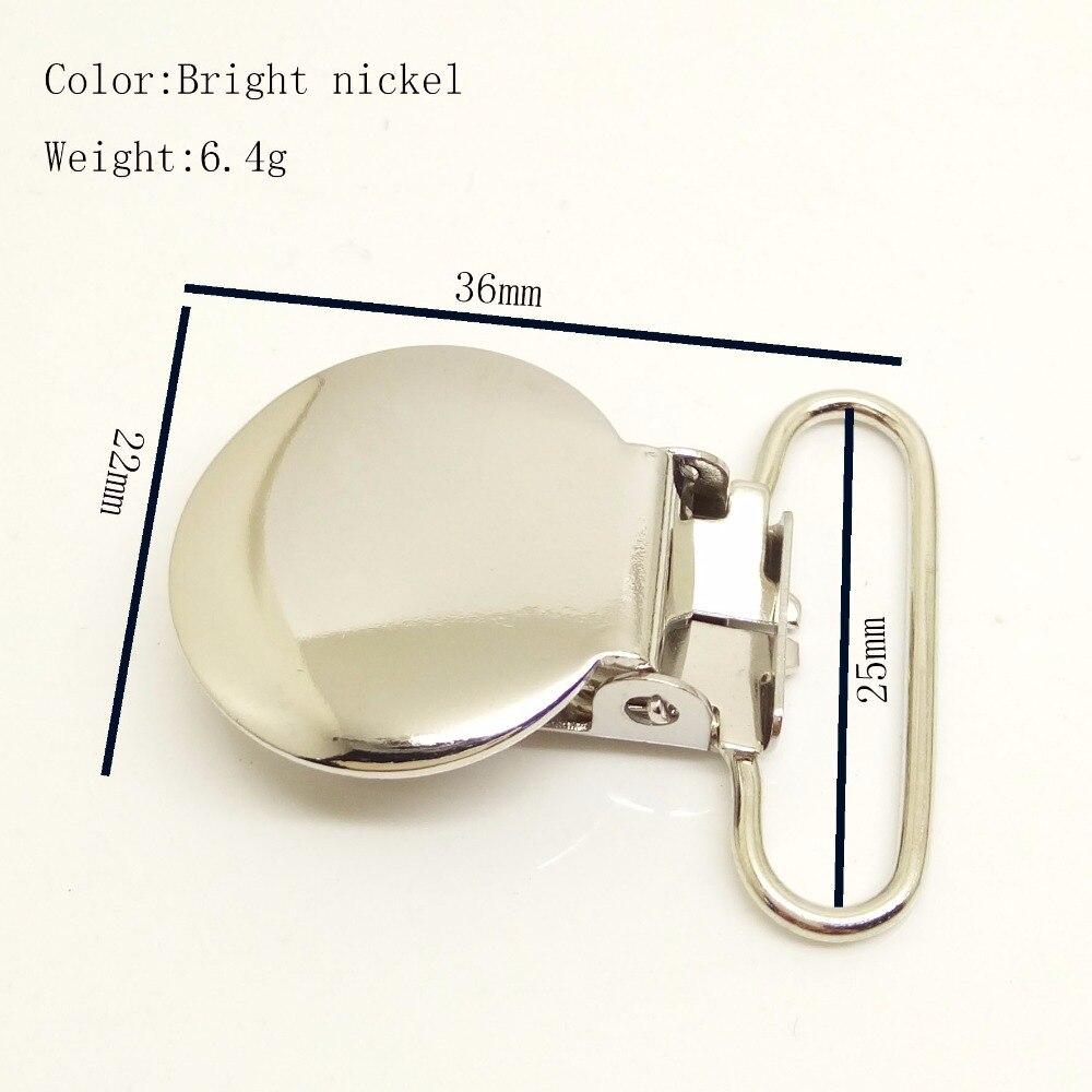 100 PCS forma redonda de Alta qualidade suspender clipe hardware 25mm Para Patchwork Costura DIY Artesanato