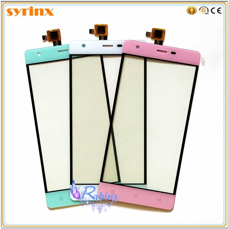 SYRINX teléfono móvil para NOMI i506 pantalla táctil digitalizador Sensor vidrio frontal Panel táctil pantalla táctil