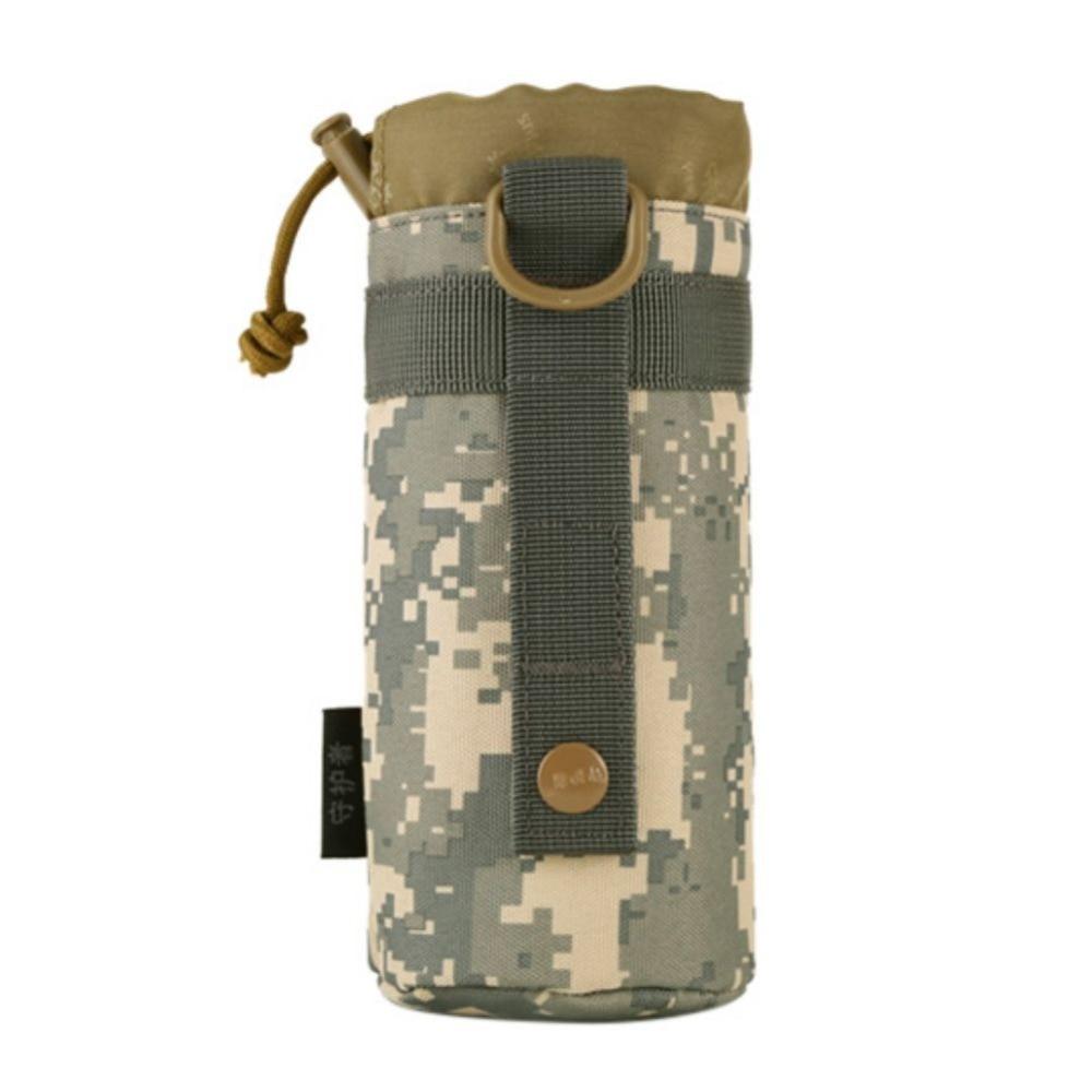 Bolsa táctica para exteriores, equipo, sistema Molle militar, bolsa para botella de agua, bolsa para hervidor, funda cartuchera J2 s