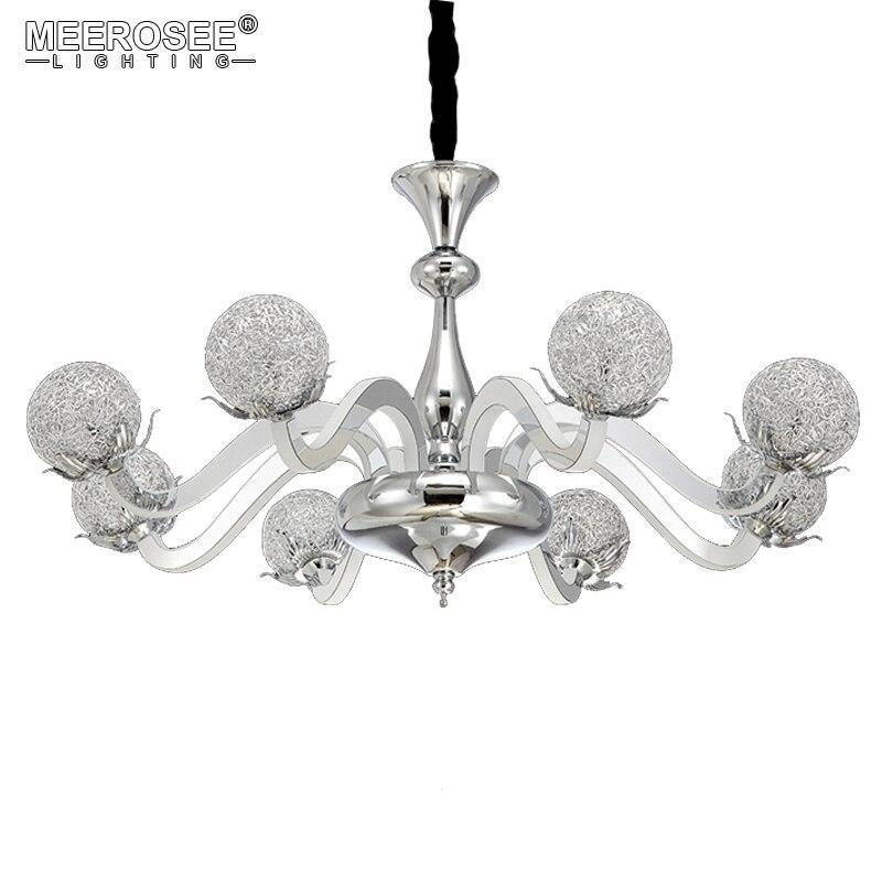 Iluminación led de araña moderna, lámpara colgante de acrílico para techo, lámpara colgante para sala de Estar, comedor, decoración moderna para el hogar, iluminación