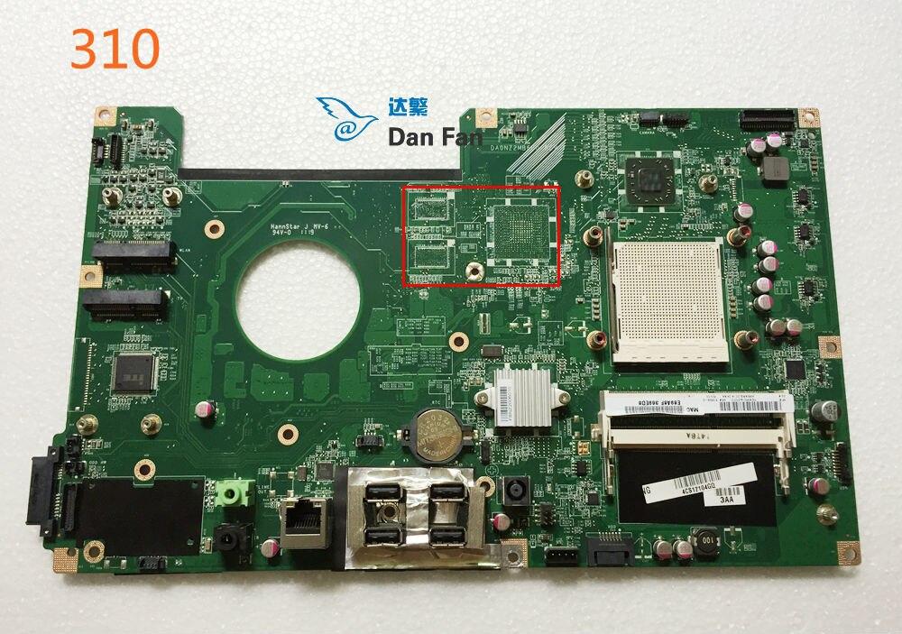 Материнская плата 618639-001 618639-002 для HP TouchSmart 310, материнская плата AIO DA0NZ2MB6F0, 100% тестирование, полностью рабочий