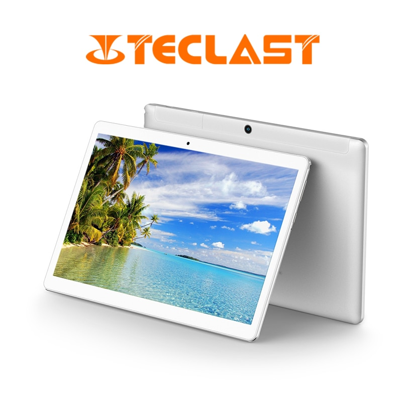 Tableta PC Teclast A10S de cuatro núcleos de 10,1 pulgadas Android 7,0 2GB 32GB compatible con cámaras duales de doble banda WiFi GPS HDMITablets