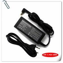 Adaptateur secteur pour Acer ASPIRE 4315 4715z 5735z 5736z 5720Z 5730Z 1641 5732z-4437 V5-531-4644 65 W Chargeur De Batterie pour Ordinateur Portable