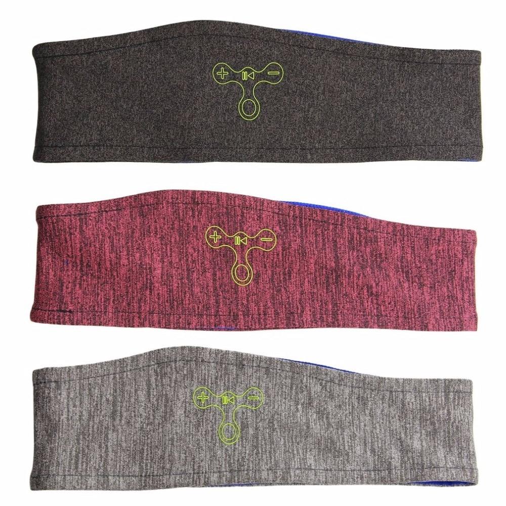 Wireless Bluetooth Knitting music Headband Headset Sleep Sports headkerchief Running yoga Gym Phone Headphone