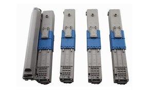 Compatible OKI Toner Cartridge C530 C510 MC561 C531 C511 MC562 44973508 44469724 44469723 44469722 Toner Cartridge with Chip