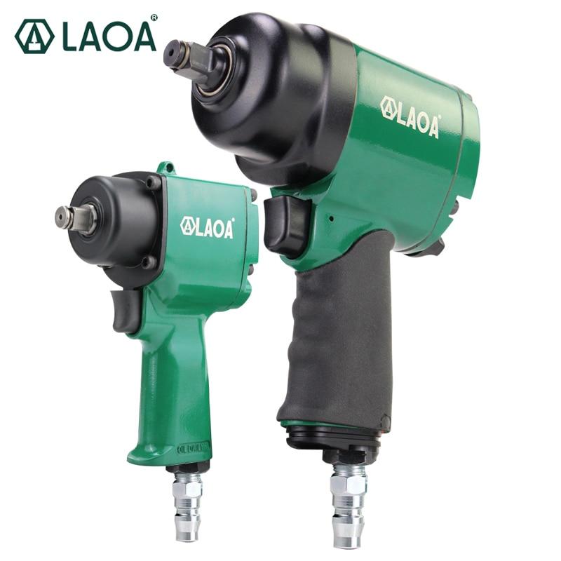 "LAOA 1/2"" Industrial Pneumatic Wrench Small Wind Gun Machine 680 N.m Mini Air Impact Wrench 800 N.m Large Torque Pneumatic Tool"