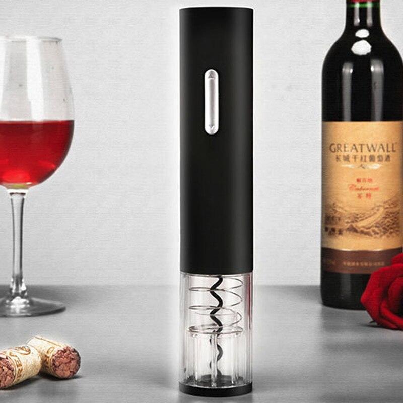 Sacacorchos abridor de botellas de vino automático, abrelas eléctricas, herramientas de cocina
