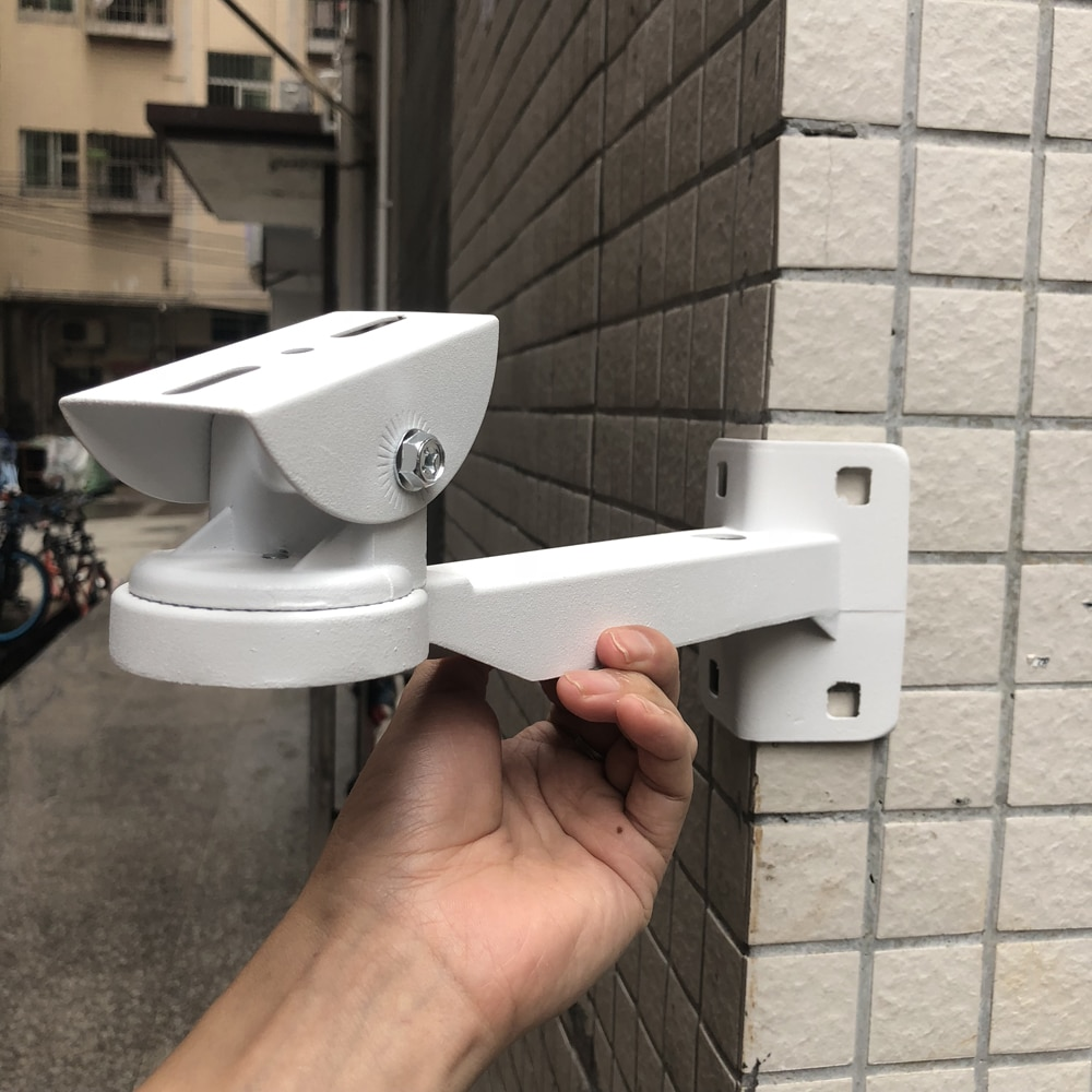 CCTV Surveillance Security IP Camera Accessories Aluminum Bracket Suit For Mounting to Right Angle O