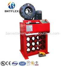 2017 barnett bnt92c 고품질 저가 유압 프레스 호스 압착 기계