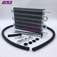 Универсальный алюминиевый масляный радиатор с дистанционной передачей, 6 рядов, 304,8x190,5x19,05/автоматический ручной Преобразователь радиатора