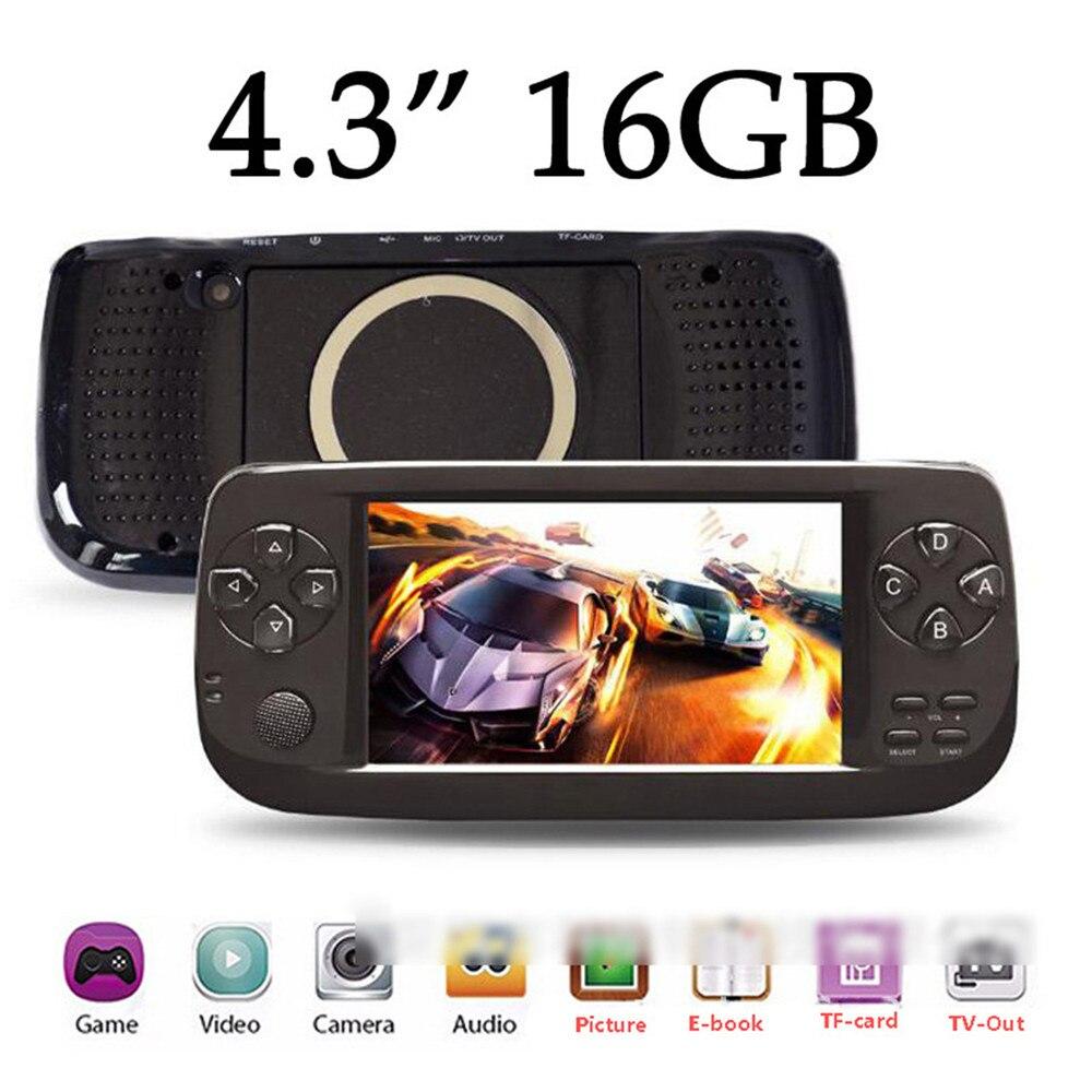 Portátil do Jogo Console de Jogos de Vídeo k3 para Neo Jogador Handheld Construído-em Jogos Pap – Geo Cps Nes Gba Gbc 64 Bit 4.3 Polegada 16g 3000