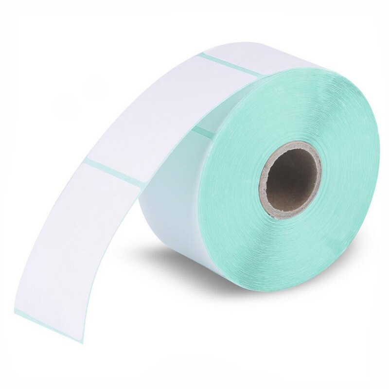 Papel de etiqueta HPRT papel con impresión térmica 40*60*640 Uds impermeable código de barras adhesivo de papel de impresión etiqueta papel de impresión