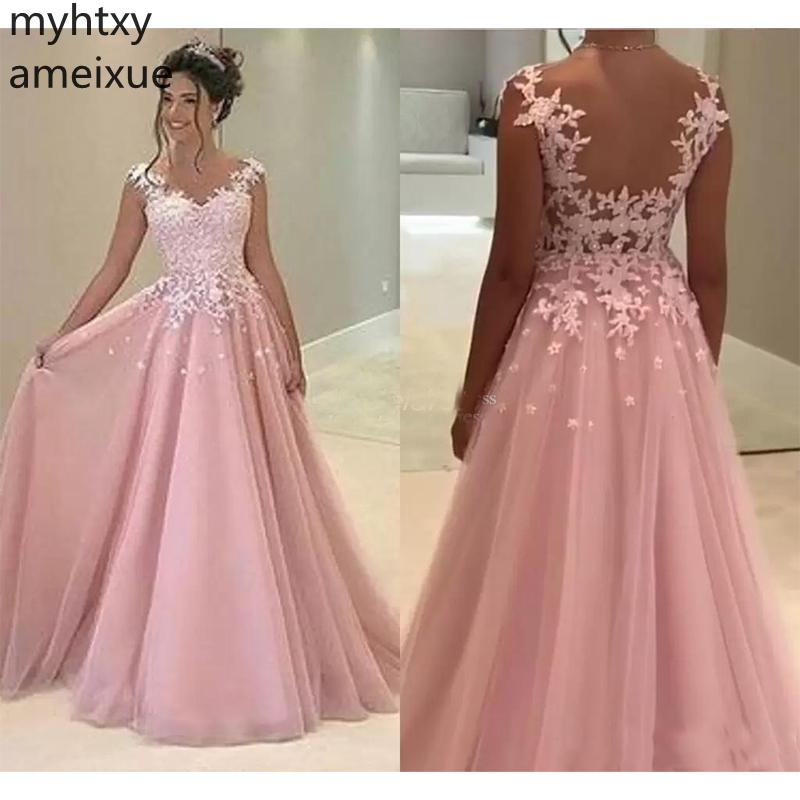 2019 New Arrival Myhtxyameixue Formal Robe Evening Sweetheart None Sleeveless Floor-length Chiffon Natural Vintage