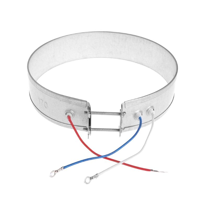 Calentador de banda delgada de 170mm 220V 750W para electrodomésticos nuevos