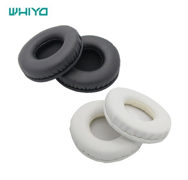 1 par de almohadillas para los oídos Whiyo, almohadillas de repuesto para los auriculares Philips SHO7205 Sony MDR-ZX660, auriculares MDR-ZX600 MDR ZX660 ZX600