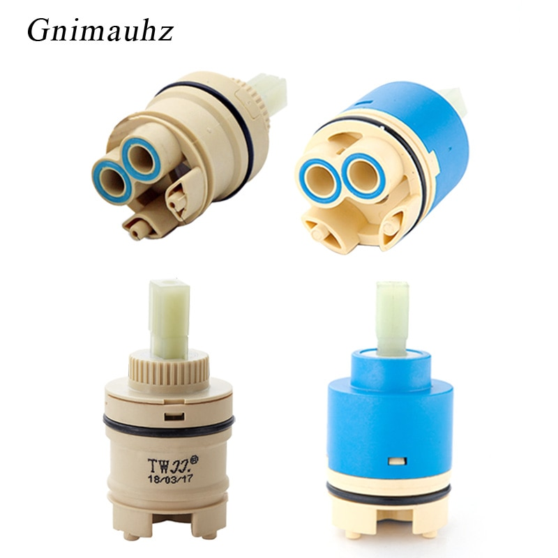Tap Mixing High spool Valve 35mm/40mm Ceramic Cartridge Faucet Cartridge Mixer Kitchen Bath Basin Sh