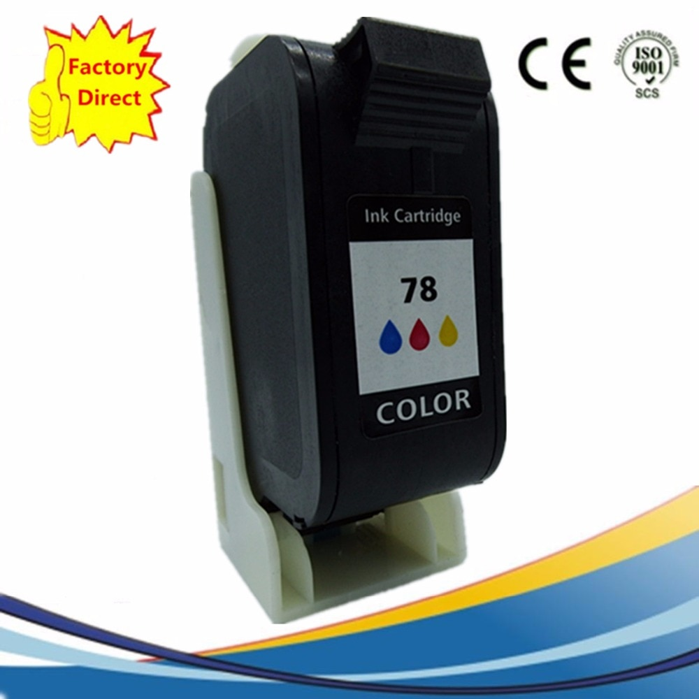 Cartuchos de tinta Remanufactured Para HP78XL HP78XL PSC 720 750 950 5110 Officejet g55 g85 g95 k60 k80 v45 v40 Copiadora 180 190 280