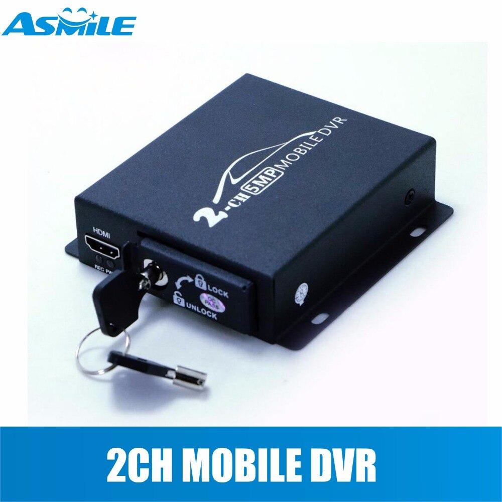 جديد 2 قناة AHD DVR 1080P الأمن CCTV DVR صغير DVR دعم 5MP AHD كاميرا تسجيل فيديو فتحة SD مزدوجة