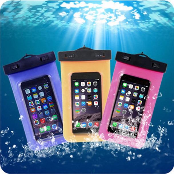 Bolsas impermeables para teléfono móvil con correa funda seca para Nokia Lumia 520 525 526 630 635 636 730 735 nuevo estuche de natación