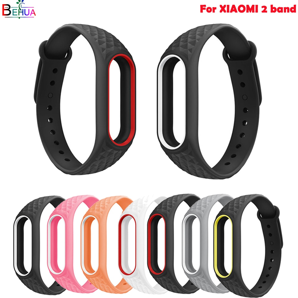 silicone sport band For Xiaomi 2 smart watch watch band Bracelet Pedometer Replacement wristband high quality strap Accessories sport silicone watch band for suunto core smart watch replacement brand new high quality wristband watch belt smart accessories