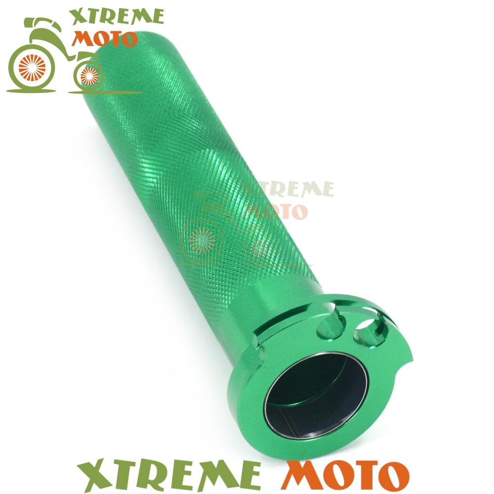 Billet CNC de la motocicleta Twister acelerador tubo para Kawasaki rxf 250 KX250F 04-12 14-17 rxf 450 KX450F 06-12 14-17 KLX KLX450R 08 09