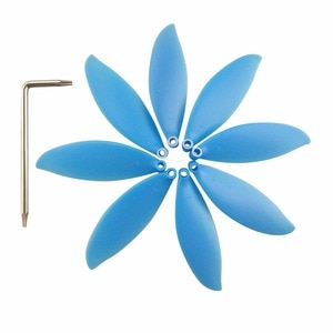 BLLRC 8PCS propeller for parrot anafi aerial four-axis drone Blue propeller