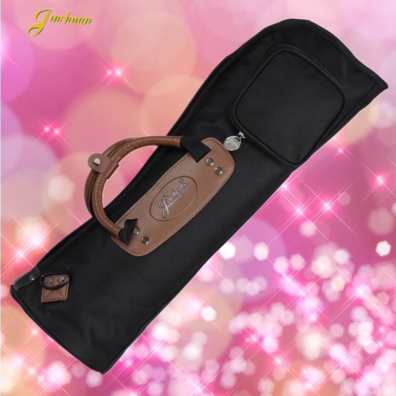 58*17cm New Wholesale professional portable durable trumpet bass bag backpack shoulder strap soft gig case padded cover pocket
