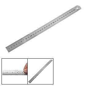 SOSW-New Stainless Steel Ruler Measure Metric Function 30cm 12Inch