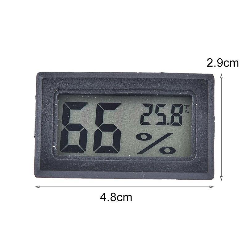 50 ~ 70C Мини цифровой ЖК дисплей удобный датчик температуры измеритель влажности