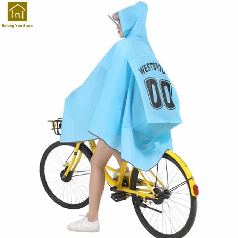Chubasquero Impermeable para ciclismo a la moda, Impermeable para exteriores, Impermeable para mujer QKR278