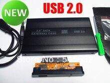 "USB 2,0 SATA 2.5 ""HD HDD Festplatte Gehäuse Externes Gehäuse Laptop"