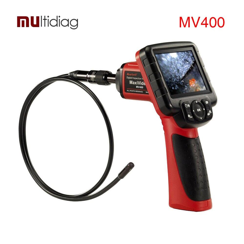 Autel Maxivideo MV400 Videoscopio Digital con 5.5mm de Diámetro de Imágenes de la Cámara de Inspección Cabeza Scan Herramienta de Diagnóstico Del Escáner